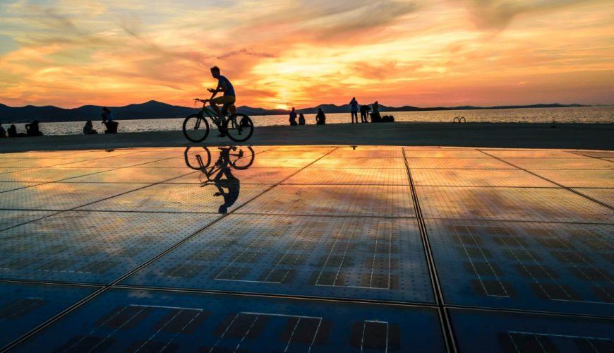 zadar famous sunsets