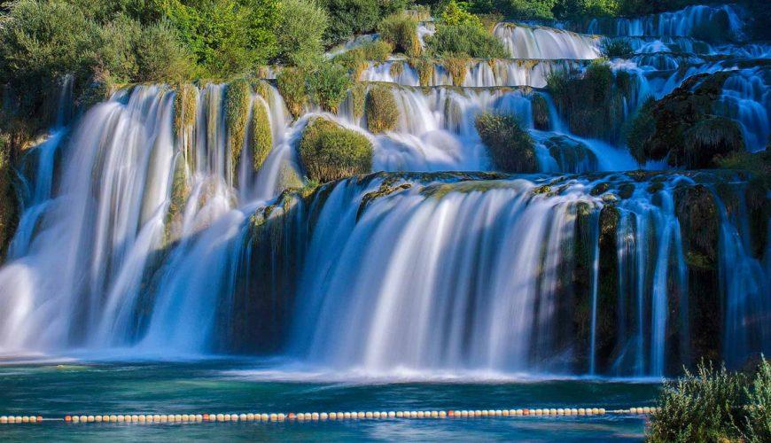 krka river waterfalls tour