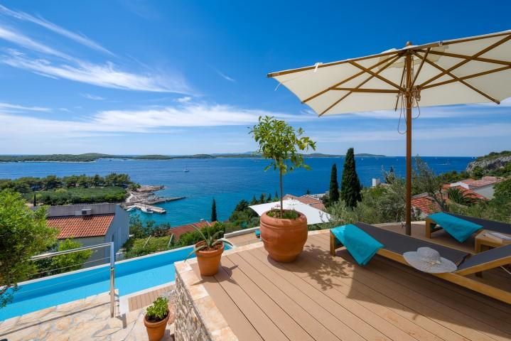 Hvar villas for rent Croatia