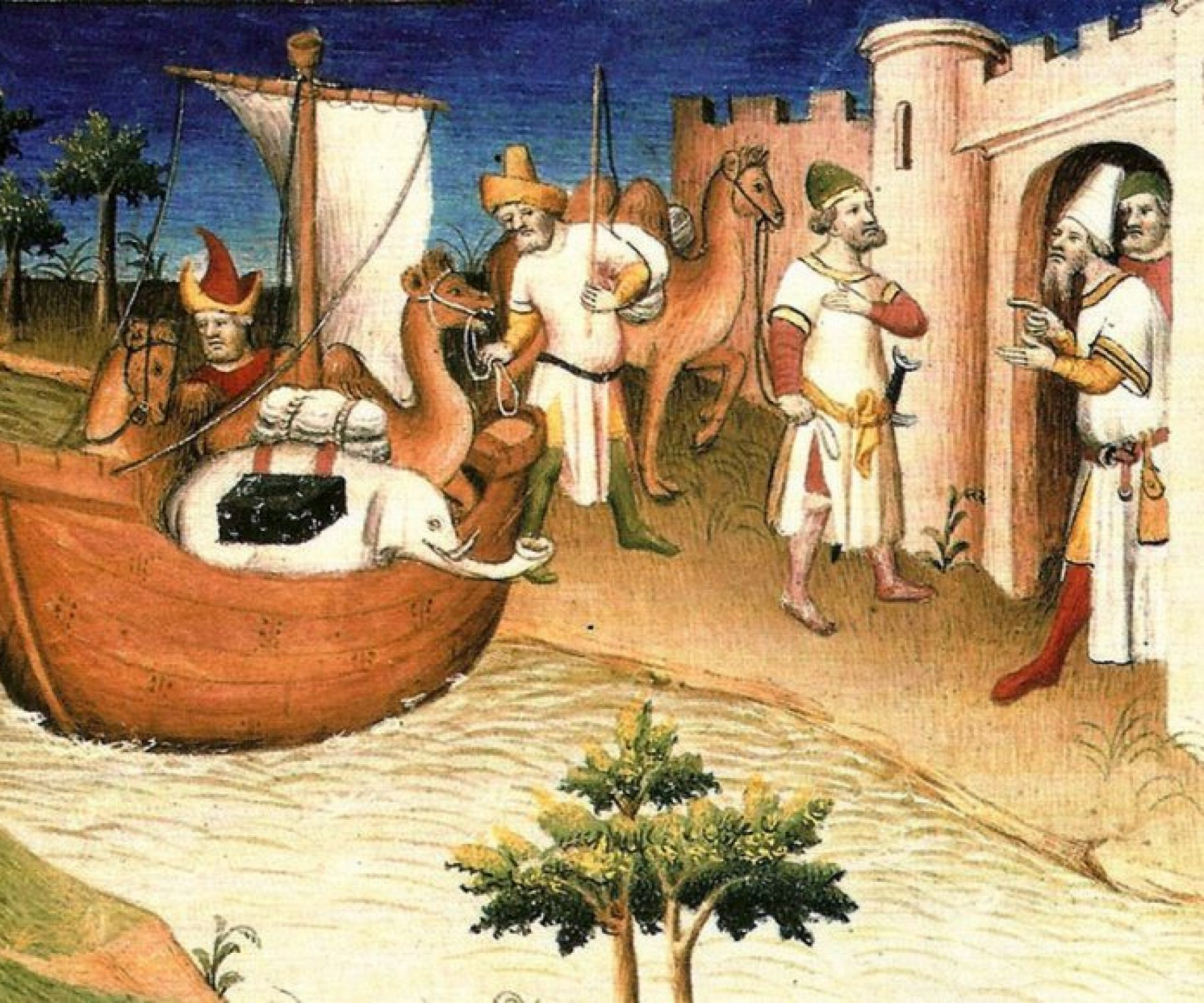 Marco Polo Croatian Explorer Traveler