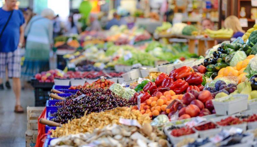 Trogir green market