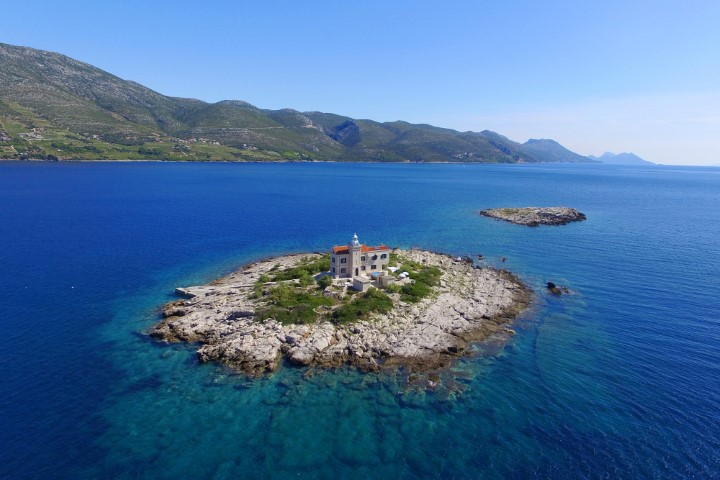 lighthouse korcula island rent