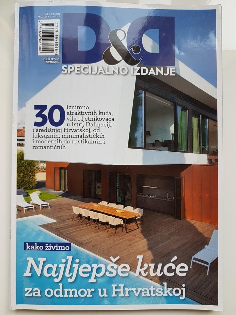 DOM AND DESIGN - National magazine specialized in real estate and tourism July 2015.