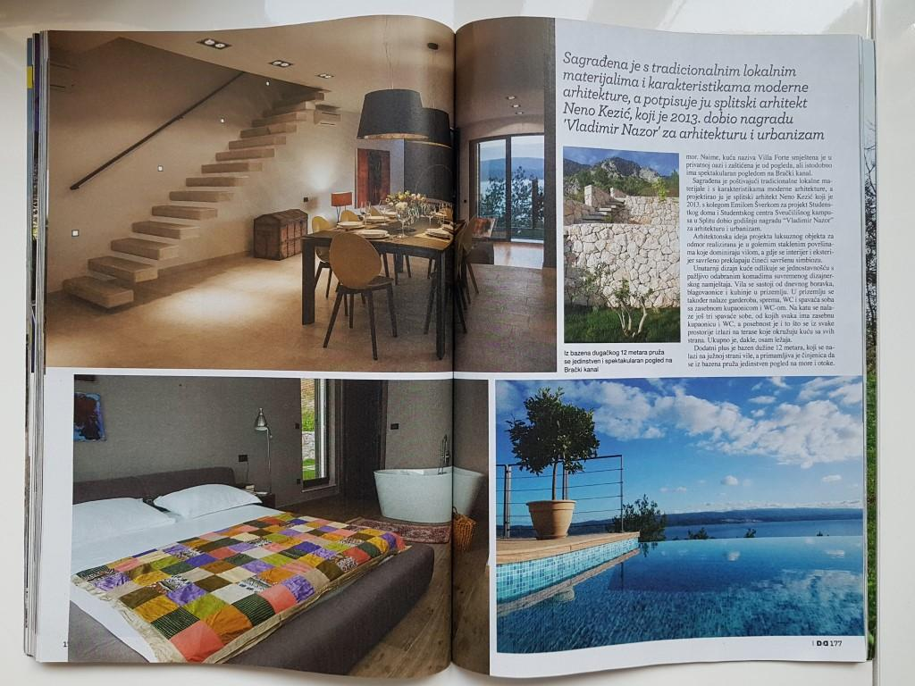 Article about LuxuryCroatia.net villas in Dom and Design