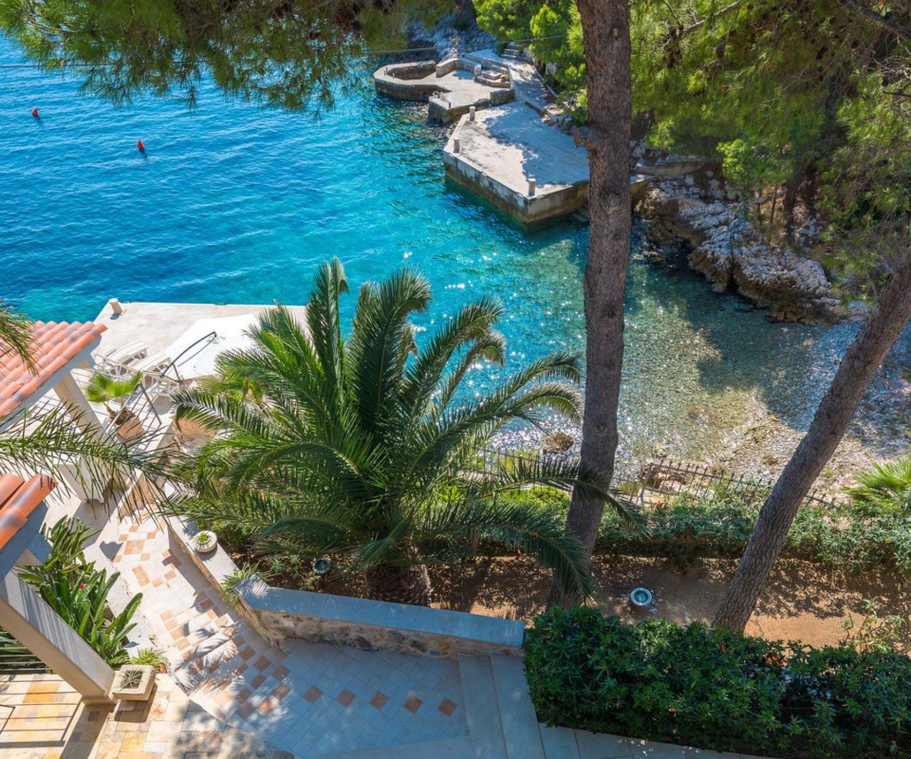 Croatia Beach villa rent