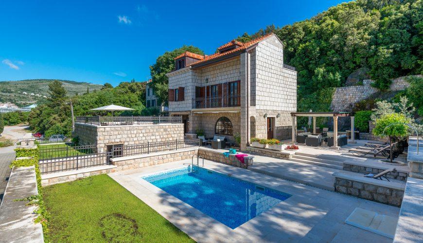 Croatia Dubrovnik Beach villa with pool for rent
