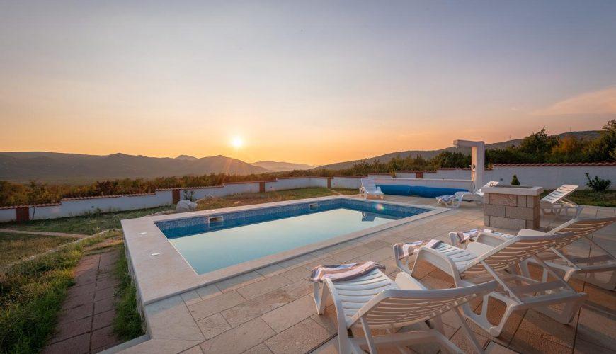 Croatia Split area Pool villa for rent