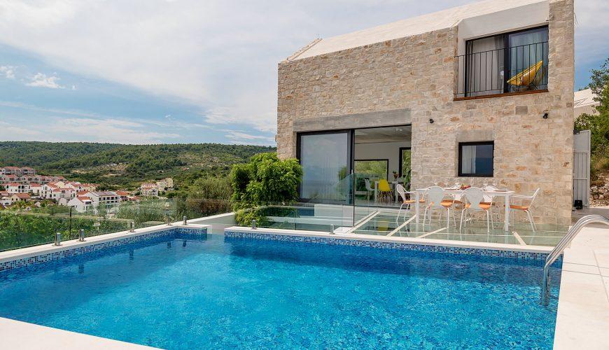 Croatia island Brac Sutivan Luxury Stone villa for rent