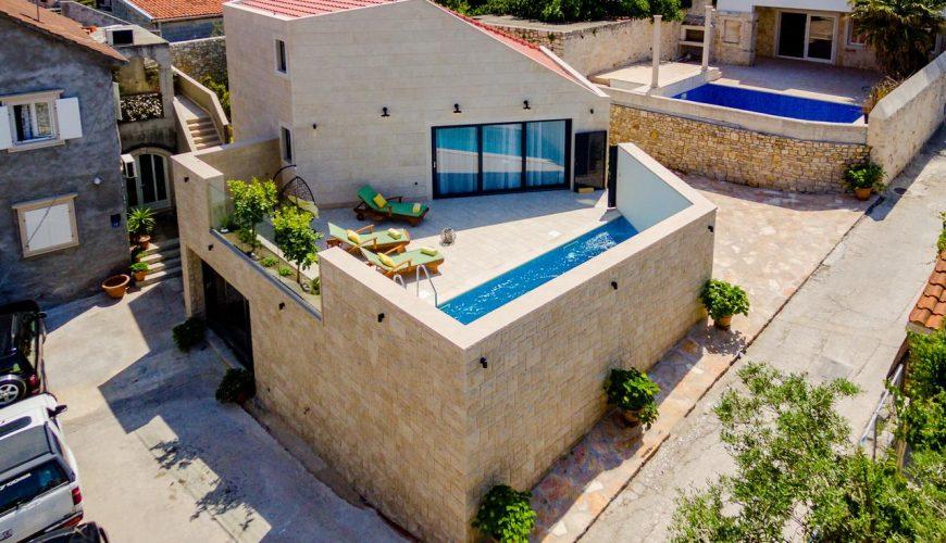 Croatia island Brac Sutivan Luxury Stone villa rent