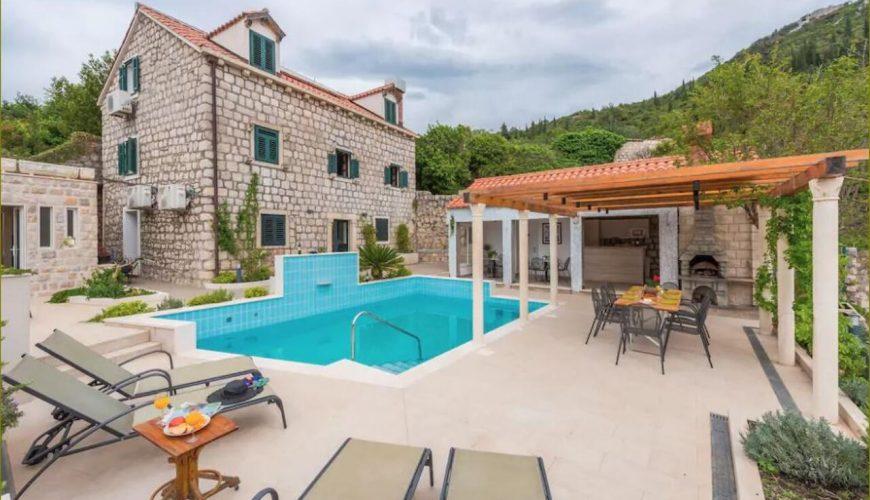 Croatia island Lopud sea view apartment villa rent